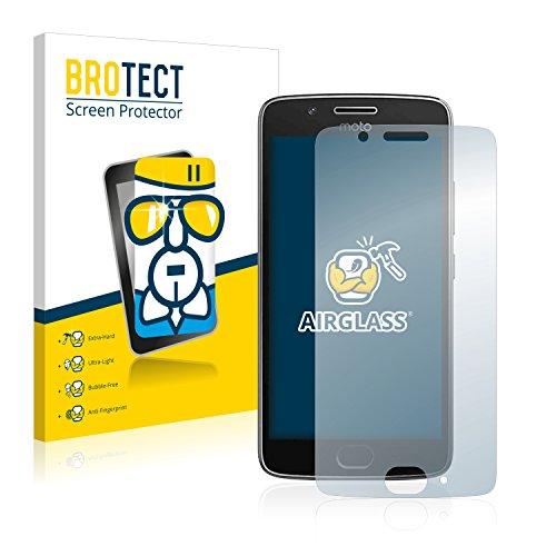 BROTECT Panzerglas Schutzfolie kompatibel mit Motorola Moto G5 - AirGlass, extrem Kratzfest, Anti-Fingerprint, Ultra-transparent