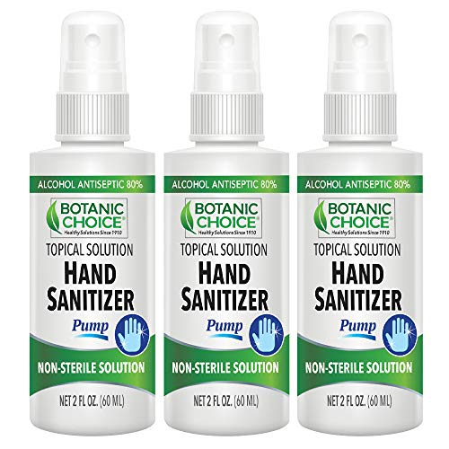 Botanic Choice Hand Sanitizer 2 FL oz - 3 Pack