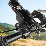 プラスチック製の自転車クリップ懐中電灯自転車クリップ用自転車リアフォークサイクリングミドルバー自転車ハンドルバー自転車