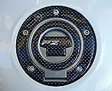 Pegatina 3D de Resina de Gel PROTECCIÓN DE Tapa DE Tanque DE Motocicleta Compatible con Yamaha FZ8