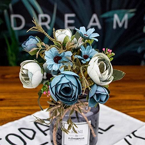 Gerbera kunstbloemen voor bruiloft, woonaccessoire, 2 stuks