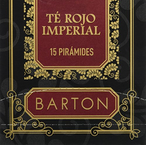 Barton Té Rojo Imperial - 15 pirámides