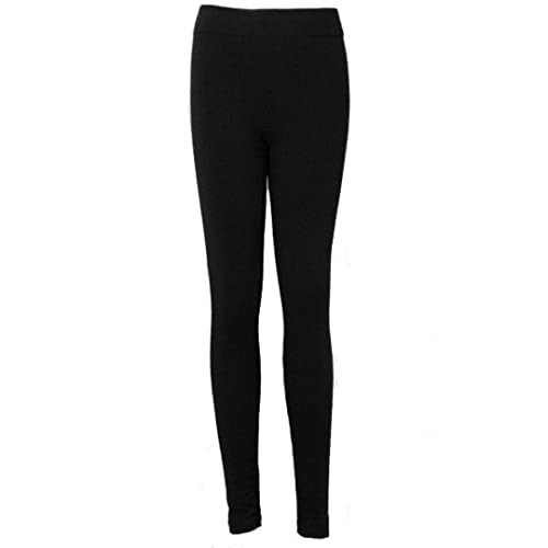 84aa7652a836b Love Lola Womens Thick Leggings Ladies Fleece Lined Long Winter Leggins  Exclusively Size 8-16