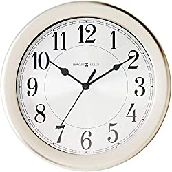 Howard Miller Pisces Wall Clock 625-313 – Modern & Round with Quartz Movement