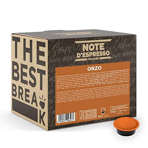 Note D'Espresso, bevanda all'orzo in capsule per macchine Lavazza e A Modo Mio, confezione da 100 x 3,5 g