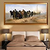 MKWDBBNM Arte de Pared Grande Pintor Famoso Impresión de Lienzo Pintura Famosa en Lienzo Imagen de Arte de Pared para decoración de Sala de Estar | 50x100cm Sin Marco