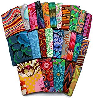10 Fat Quarters - Kaffe Fasset Collections Floral Flowers Flower Botanical Geometric Pattern Assorted Quality Quilters Cot...