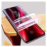 YYJH LSCHMY Protector de Pantalla 2 unids for Xiaomi Redmi Note 9 Pro MAX 9S 8 8T 7 6 5 Plus REDMI 4 4X 9A 8A 7A 6A 5A no es Vidrio (Color : For Note 9S, Size : 2 Pieces)