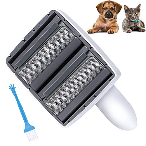 G.C Pet Hair Remover Dog Cat Reusable Roller Animal Lint Fur Brush Cleaning Furniture Clothes Sofa Carpet Couch Bedding