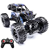 JDBABY Remote Control Truck,Fast RC Cars for Boys Adults 1:14 Scale 2.4G 4WD,Off-Road Monster Toy Truck, All Terrain Waterproof Toys Vehicle for Boys Kids Adults