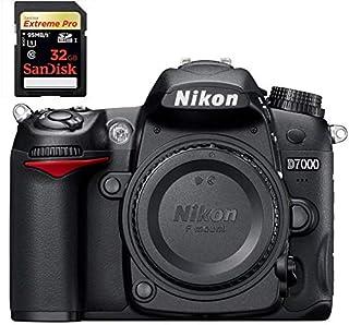 نيكون D7000 كاميرا اس ال ار بودي * 32 جيجابايت اكستريم برو ميموري كارد 95mb/s