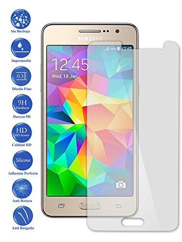 Todotumovil Protector de Pantalla Samsung Galaxy Grand Prime G530 de Cristal Templado Vidrio 9H para movil