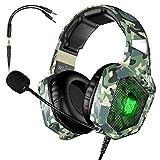 VersionTECH. Gaming-Headset BX054 grün camo