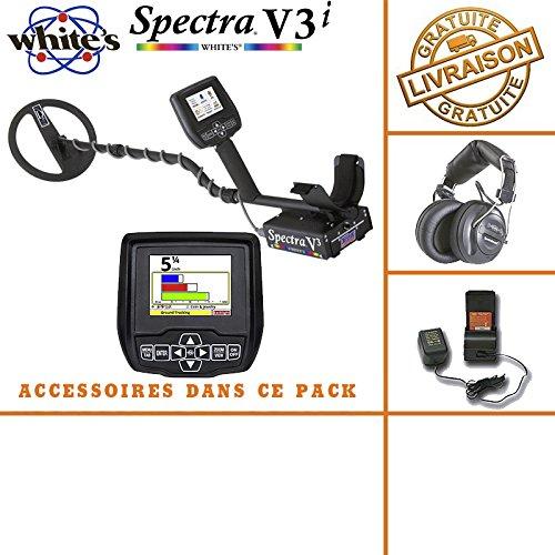 White's Spectra V3i - Incluye auricular inalámbrico, pilas y cargador