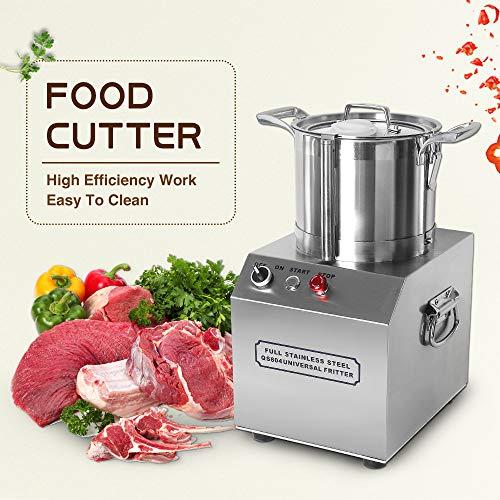 4L Heavy voedsel Cutter, high-speed motor plantaardig keukenmachine gehaktmolen keuken mixer grinder