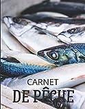 Carnet De Peche: Cadeau pour pêcheur passionné | Un accessoire essentiel pour le panier de pêche