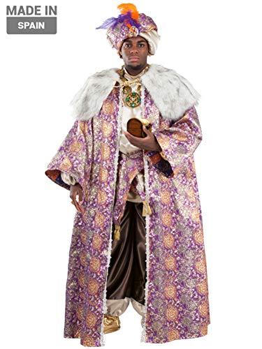 DISBACANAL Disfraz Rey Baltasar Adulto - -, XL