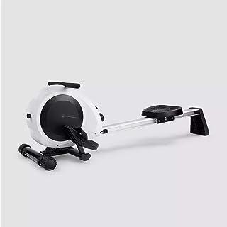 Intelligent roddmaskin, extremt tyst, liten och effektiv träningsanordning, vit, håller 200 kg vikt, kan gå av och av på e...