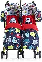 Cosatto Supa Dupa Cuddle Monster 2 Twin Stroller, Multi