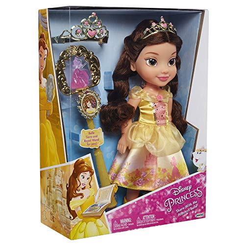 Disney Princess- Belle Toddler Doll And Accessories Bambola, Multicolore, 84307