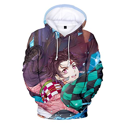 BAI Youth Hoodie Men's Jacket 3D Print Pullover Casual Slim Riding Sports Outdoor 3XL / B / 150cm