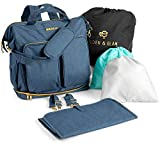 Best Diaper Bag For Twins - Diaper Bag Backpack for Two Babies, Toddlers, Children Review