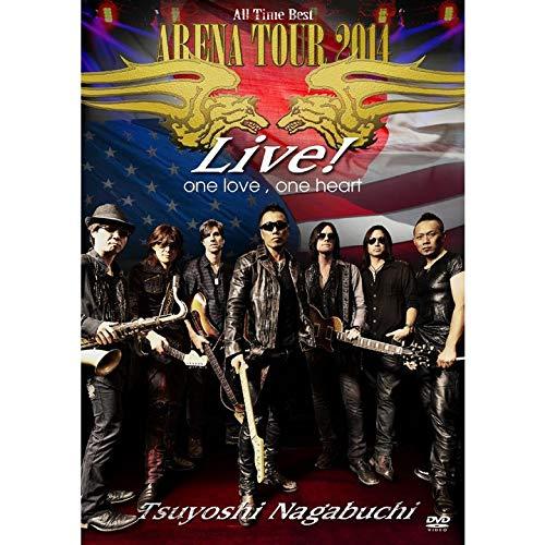"""[画像:TSUYOSHI NAGABUCHI """"ARENA TOUR 2014 ALL TIME BEST"""" Live! one love, one heart(期間限定盤)[2DVD]]"""