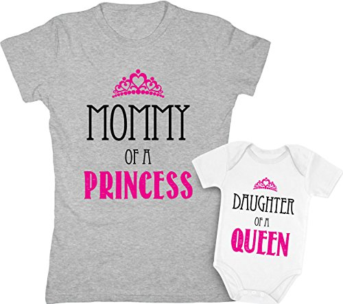 Mommy of a Princess & Daughter of a Queen Mother & Daughter...