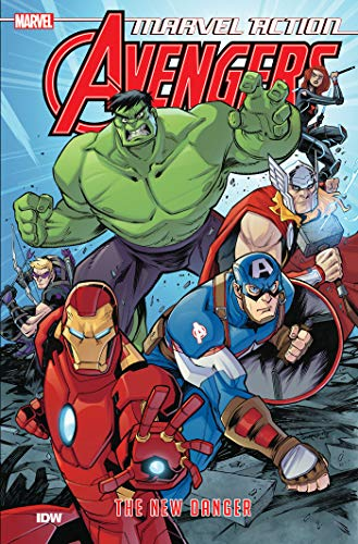 Compare Textbook Prices for Marvel Action: Avengers: The New Danger Book One Illustrated Edition ISBN 9781684055159 by Manning, Matthew K.,Sommariva, Jon