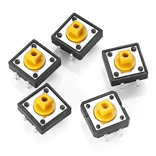 CAIJINJIN Módulo Mini Micro momentáneo táctil Touch botón Push Switch Dip P4 Normalmente Abierto