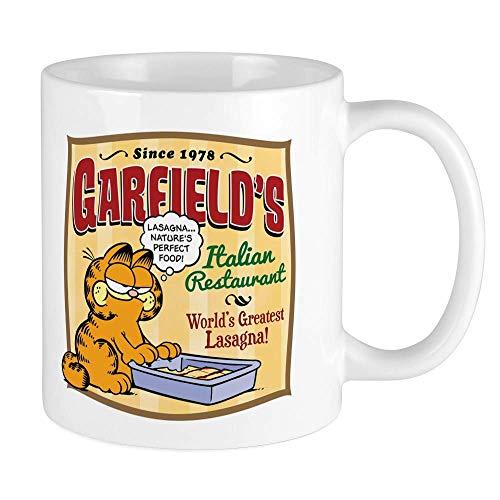 Reisebecher,Funny Garfield's Italian Restaurant 11oz Funny Gift Mug