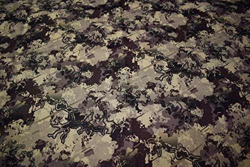 """1000D Coated Outdoor Cordura Camo Fabric 57"""" Wide True Timber Viper Western Desert by The Yard"""