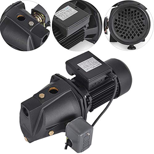 Happybuy Shallow Well Jet Pump with Pressure Switch 1HP Jet Water Pump 216.5