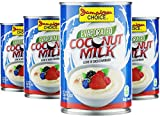 Evaporated Coconut Milk   13.5 fl oz (4-Pack) - by Jamaican Choice