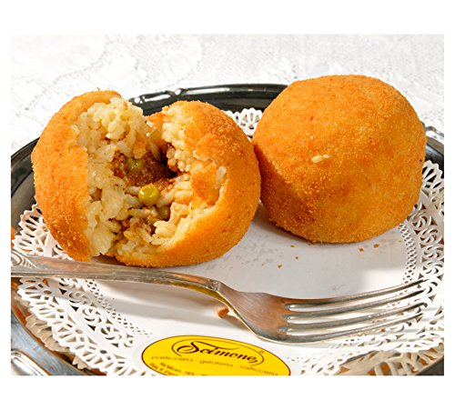 8 Arancini Siciliani alla Carne - Spedizione 24h