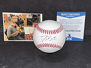 b123f58e3 David Bote Chicago Cubs Autographed Signed Official Major League Baseball  BECKETT WITNESS COA