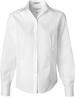 Women's Wrinkle Free Spread Collar Oxford Shirt