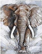 DIY 5D Diamond Painting Kits,Diamond Embroidery Animal Africa Elephant 5D DIY Diamond Painting Cross Stitch Mosaic Wedding...