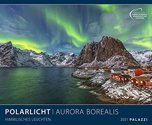 Polarlicht 2021 - Bild-Kalender - Wand-Planer - 60x50: Aurora Borealis