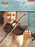 Worship Favorites Violin Play-Along Volume 59 (Book/Online Audio) (Hal Leonard Violin Play-Along)