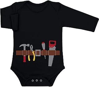 Shirtgeil Handwerker Baby Halloween Kostüm Baby Langarm Body