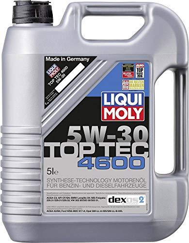 LIQUI MOLY 3756 Top Tec 4600 Motoröl 5 W-30 5 L