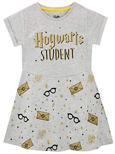 Harry Potter Mädchen Hogwarts Kleid Grau 134