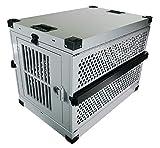 "Impact Collapsible, Durable Aluminum Dog Crate (Medium (30"" L x 19"" W x 22"" H))"