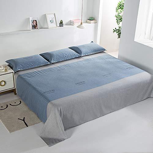 IKITOBI Sábanas bajeras individuales, dobles, king y superking: fundas de almohada de 400 x 245 cm