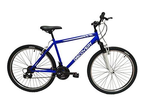 """Discovery DP071 - Bicicleta Montaña Mountainbike 26"""" B.T.T. con amortiguación. Cambio fricción, 18 Velocidades. para Hombre"""