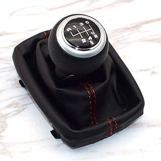 23mm Perilla de la cubierta del caso fuelle de la palanca de arranque de engranaje del coche Shift for Audi A3 S3 8L 1.6L 1996 1997 1998 1999 2000 2001 2002 2003 Uni Pomos de Palanca de Cambios 12mm