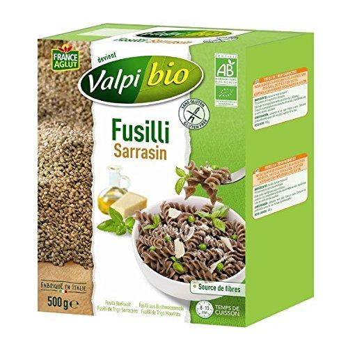Valpi - Bio Fusilli Sarrasin 500G Sans Gluten