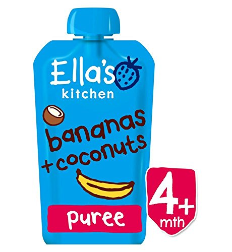 Ella's Kitchen Bananas + Coconuts from 4 Months 120g