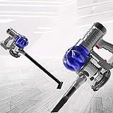 FOOF Cordless Vacuum Cleaner Without Bag, Akkusauger:4In1-Akku-Zyklon-Staubsauger Mit Elektrischer Bürste, 120 Watt, 33000 (R/Min)